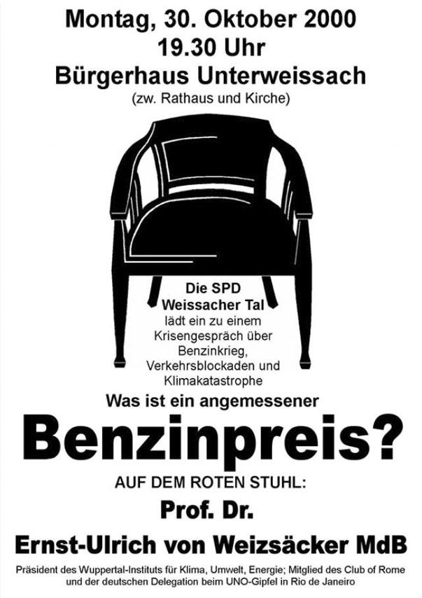 22 Roter Stuhl Mit Prof Dr Ernst Ullrich Von Weizäcker