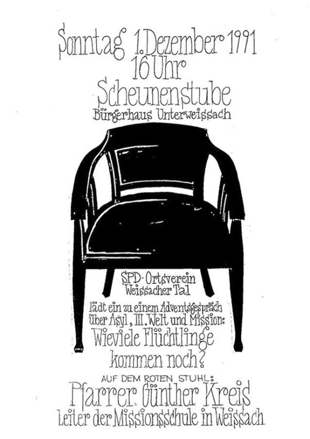 7 Roter Stuhl Mit Pfarrer Günter Kreis Herzlich